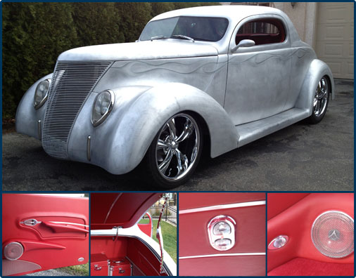 Classic, Custom and Hot Rod Automotive Interior Parts and